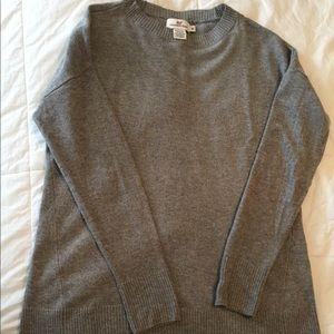 Vineyard Vines gray sweater xs